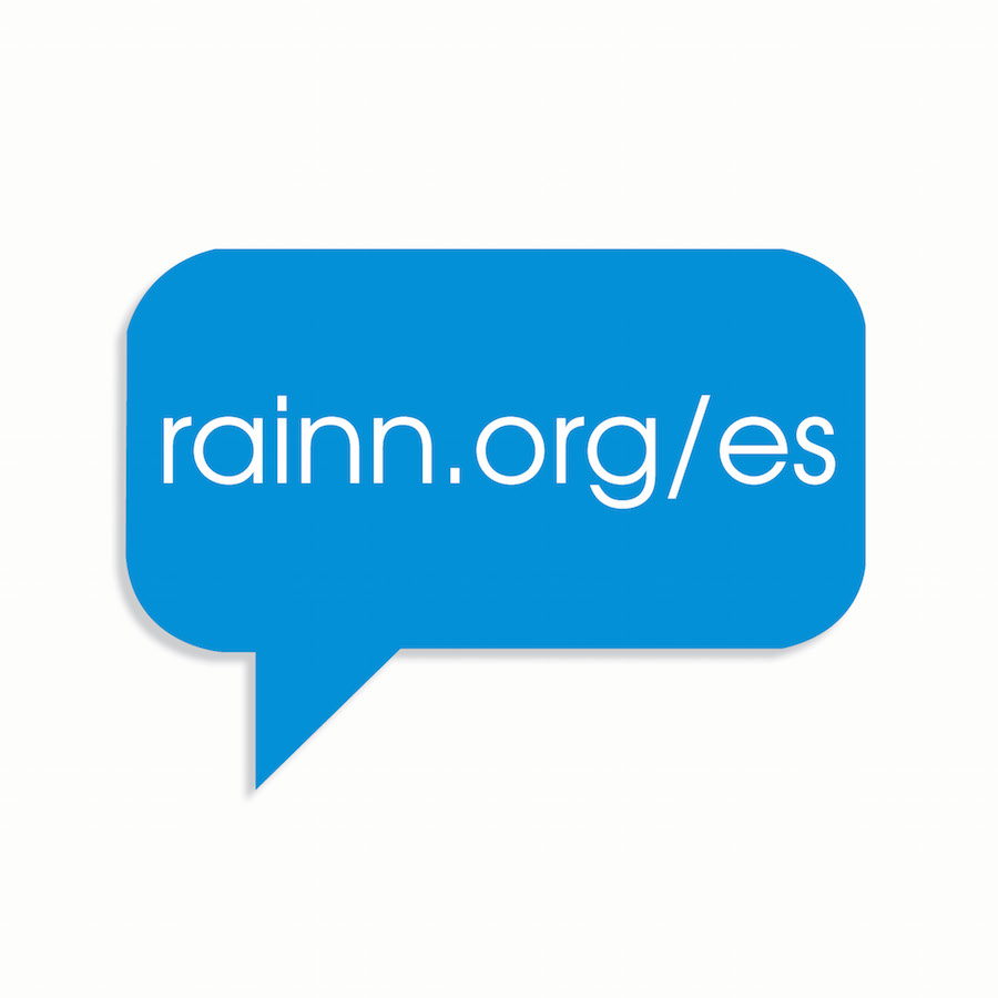 chat bubble with RAINN.org/es