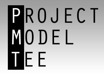 project model tee logo