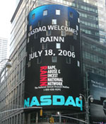 NASDAQ Welcomes RAINN