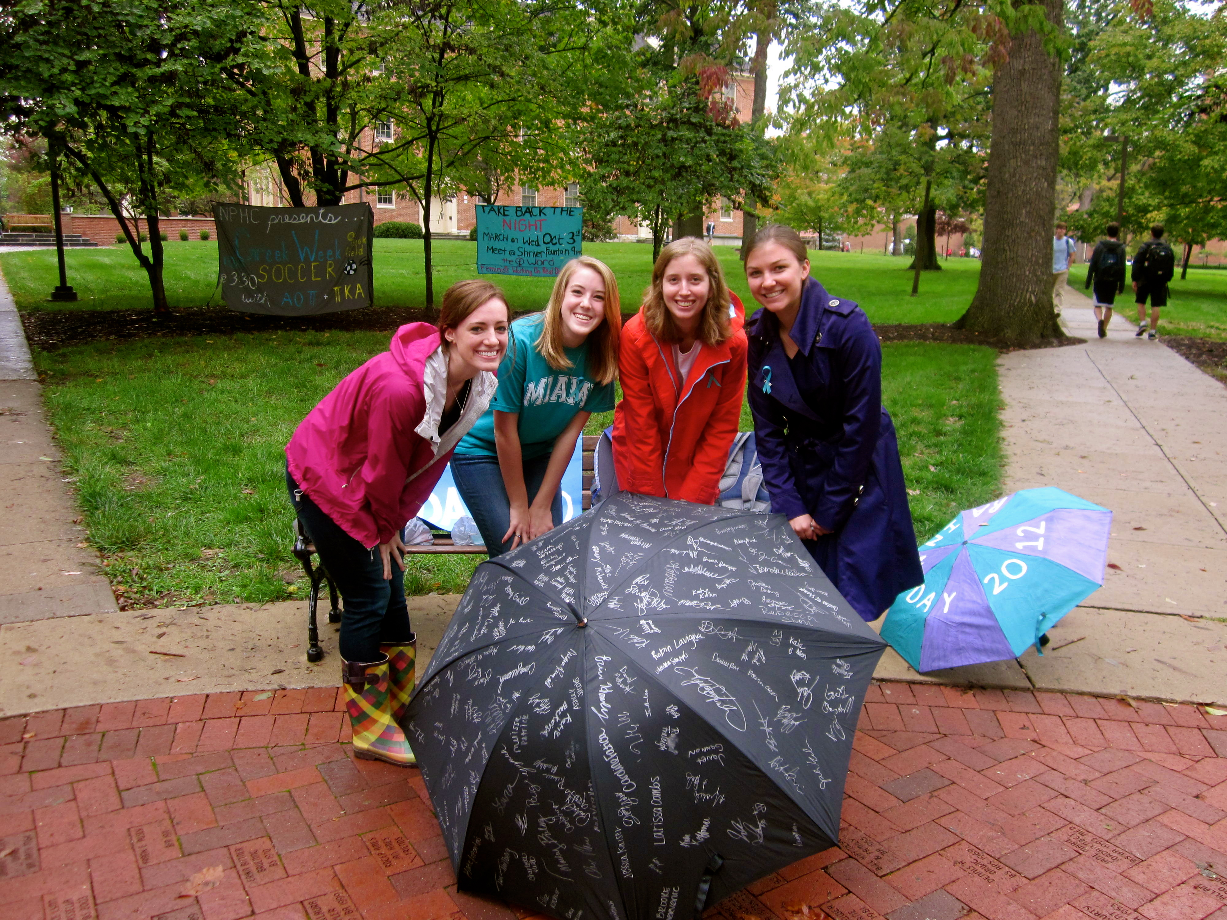 RAINN Day at Miami University