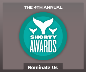 shorty award nomination