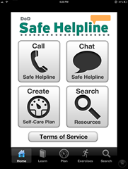 safe helpline app