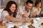 eating together rainn