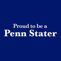 Proud to be  Penn Stater Logo