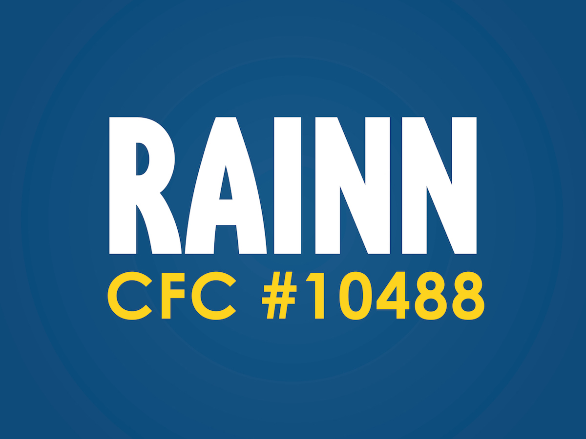 RAINN CFC code for federal employees