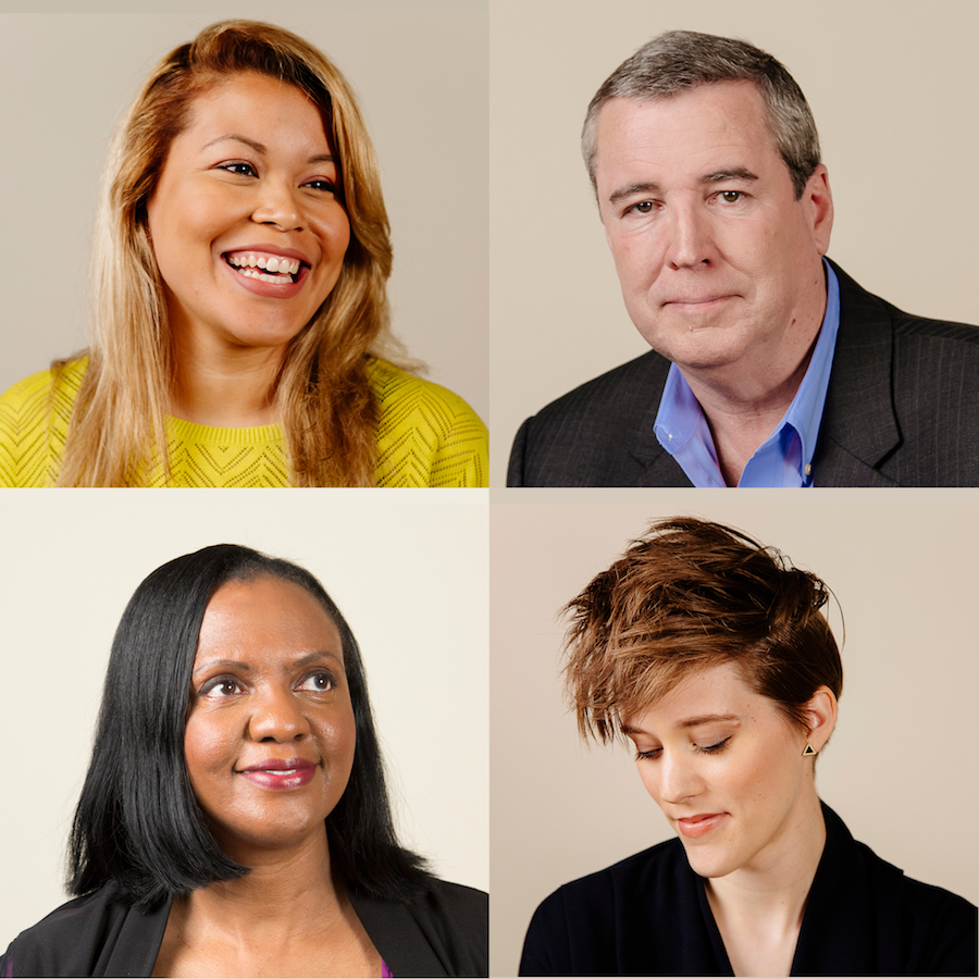 Portraits of four sexual assault survivors: Juliana, Kieth, Debra, and Lucy. They each discuss recovery from sexual assault.