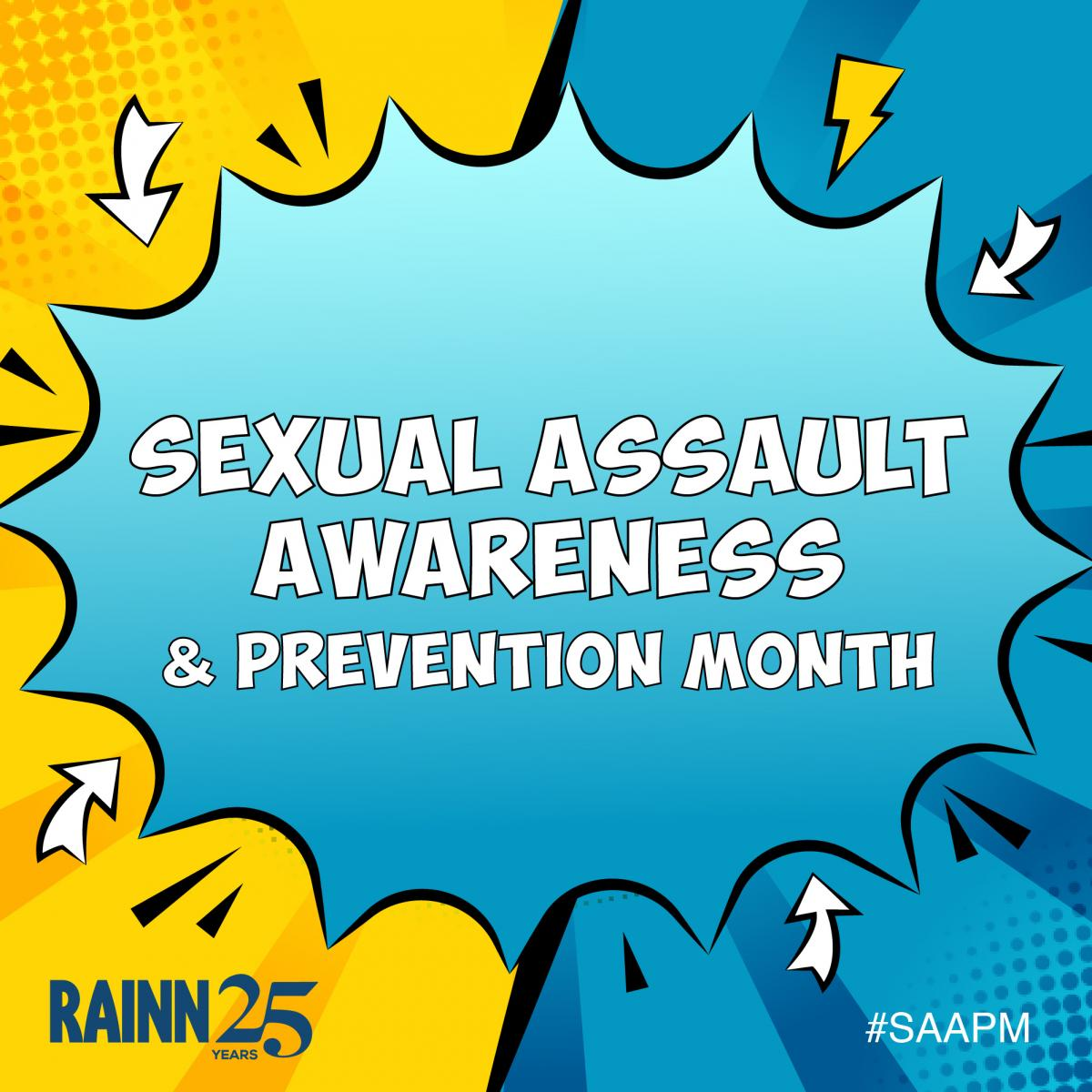 Your 2019 Guide to Sexual Assault Awareness and Prevention Month | RAINN