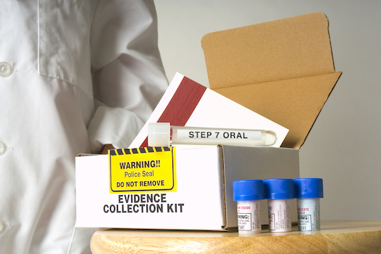 Sexual assault forensic evidence kit